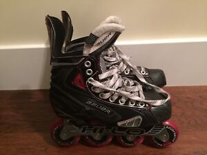 Inline / Roller Hockey Skates, US 7, and US 5.5