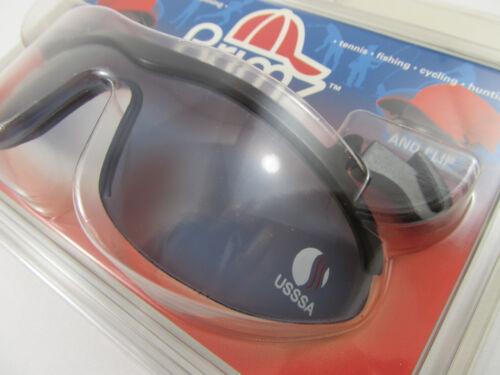 12 USSSA Flip Up Sunglasses DOZEN Brimz Clip On Sports Eyewear USSSA Logo NIP