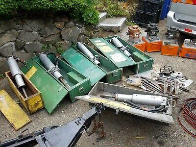 Lot 5 Darda Rock Splitter 2 Of3 3 Of5 With Gas Power Unit Germany