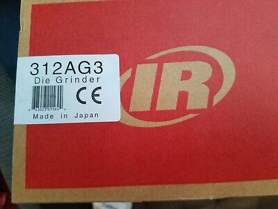Ingersoll Rand Industrial Die Grinder 312ag3 Air Tool W 3 Guard Msrp 450.00
