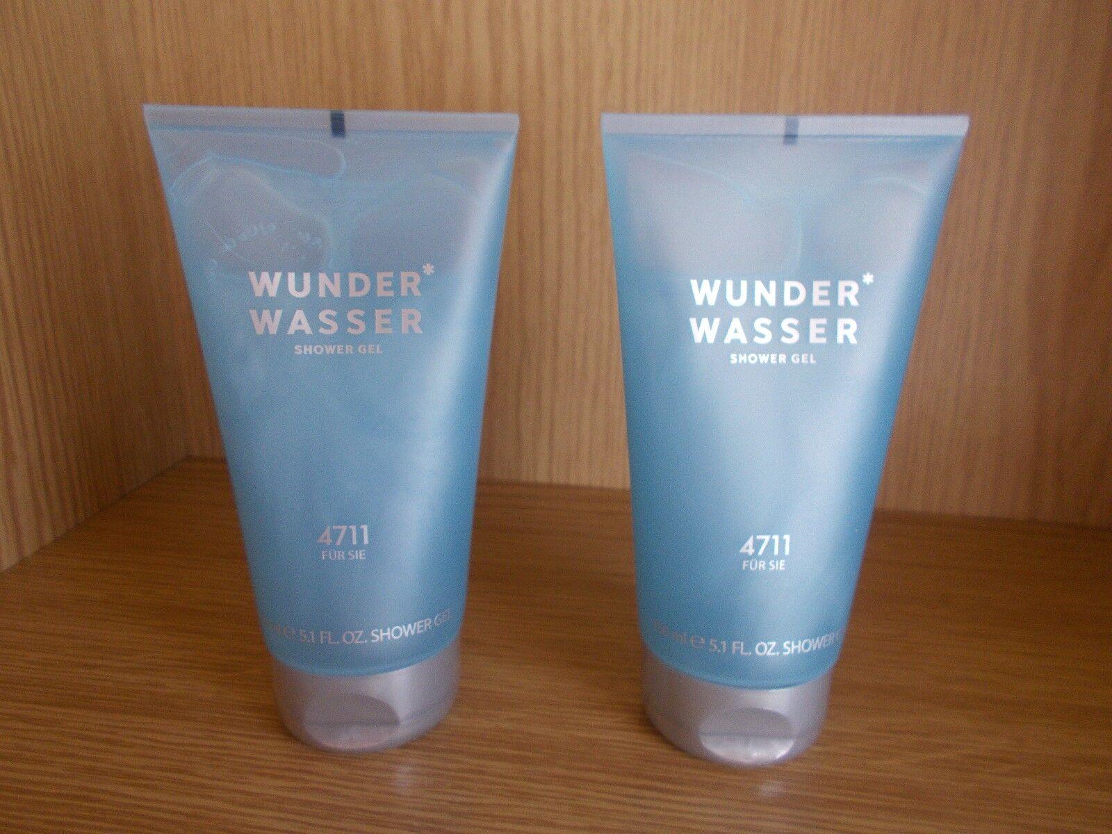 (GP:100 ml/ 6,66€) Wunderwasser  für Sie  4711 2 x je 150 ml Shower Gel
