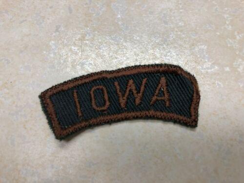 Iowa Green and Brown Explorer State Strip