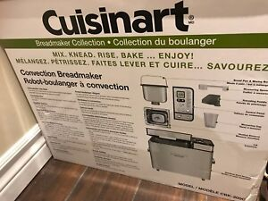 Cuisinart Convection Bread Maker, stainless steel