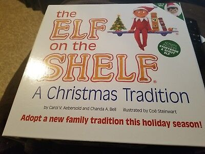 Girl And Boy Elf On The Shelf (2 Elves on the shelf Boy and Girl with books and outfit for the girl)