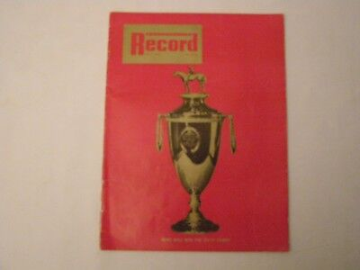 THOROUGHBRED RECORD MAY 4.1968 ISSUE