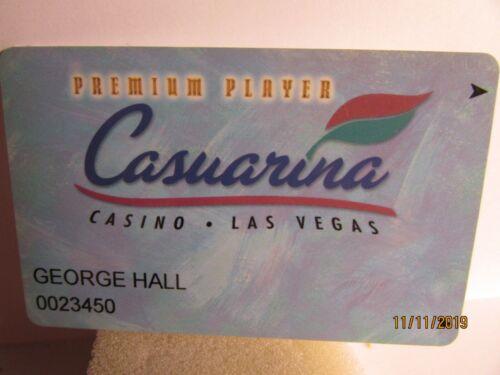Casuarina Casino-Las Vegas, NV.-Premium Player- Club Card-mint