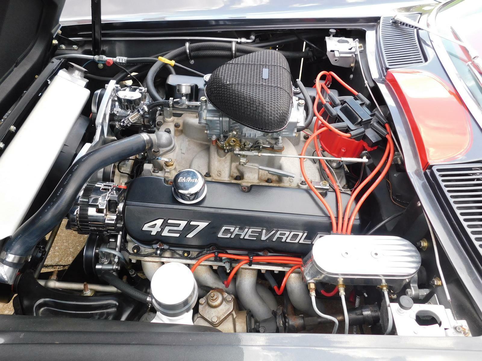 1966 Gray Chevrolet Corvette     C2 Corvette Photo 10