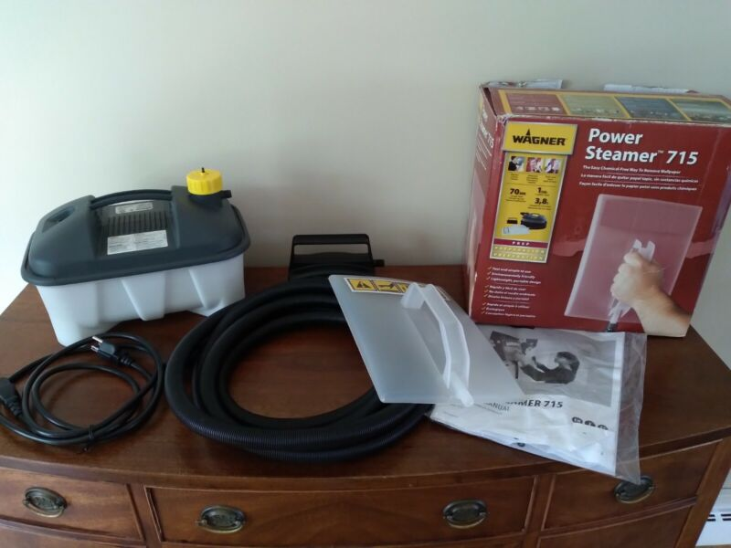 Wallpaper Power Steamer Wagner 715 Quick Removal Portable Lightweight