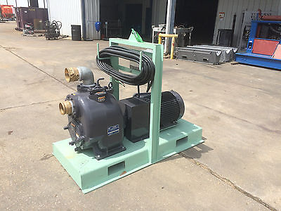 4 Explosion Proof Electric Centrifugal Trash Pump Gorman Rupp 30hp New