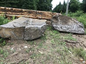 Boulders for sale.