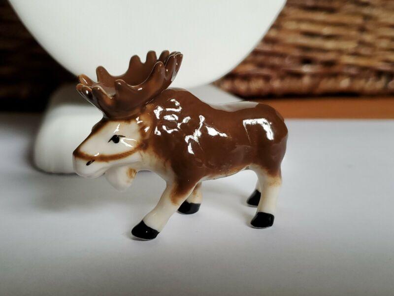 Vintage porcelain Moose