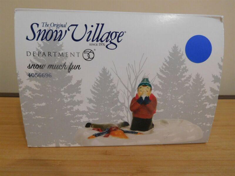 Dept 56 Snow Village - Snow Much Fun - NIB Free Ship