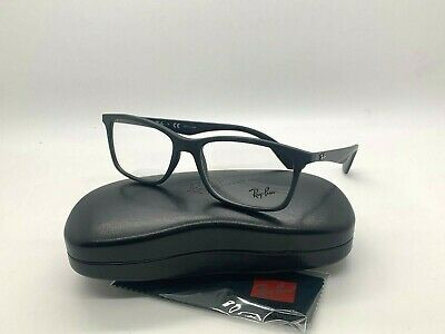 NEW Ray-Ban OPTICAL ORX7047 5196 BLACK EYEGLASSES FRAME (Ray Ban Prescription Lenses)