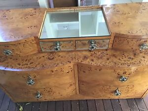 Birds eye maple Chest of drawers Kew East Boroondara Area Preview