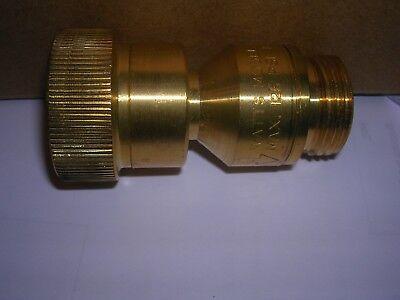 Watts Dual Check Vacuum Breaker Valve W Atmospheric Vent 34 N9-cd Lead Free