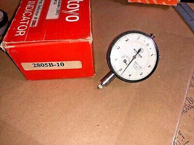 Mitutoyo Dial Indicator 2805b-10 .0001 - .050
