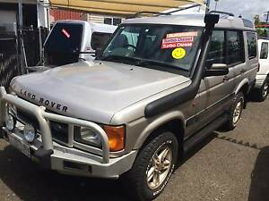 2001 Land Rover Discovery Wagon T/Diesel AUTO 5Cyl Series 2 4WD Islington Newcastle Area Preview