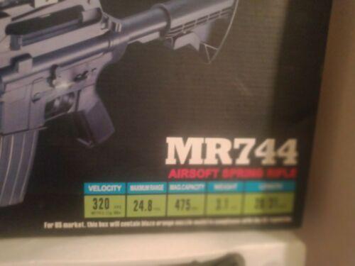 MR744 AIRSOFT GUN