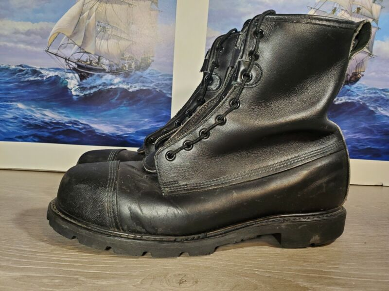 Sympatex Certified USA Steel Toed Firefighter Boots - Size 10.5 M