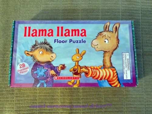 LLAMA LLAMA Floor Puzzle - 28 Oversized Pieces DOUBLE SIDED - 2 Puzzles In One!