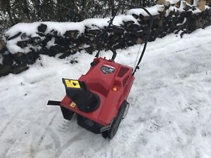 """Troy Bilt snowblower. 208cc  21"""" with e-start.  All tuned up"""