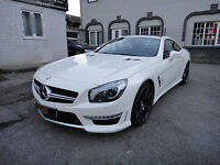Mercedes-Benz SL 63 AMG Speedshift MCT Performance Drivers Pak