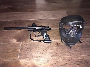 Paintball Gun + Mask Never Used