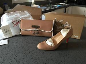 Christian Louboutin Shoes and Matching Handbag Reservoir Darebin Area Preview