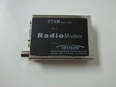 Ritron Vhf Uhf Dtx-modem Dtxm154-0bn6i Wireless Radio Modem 148-174mhz L4