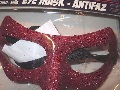 Supergirl Eye Mask halloween superhero costume Girl Power Sparkle NEW - Super Girl Mask