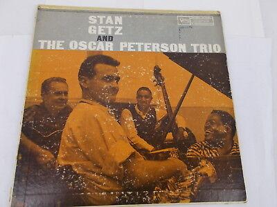 Stan Getz & The Oscar Peterson Trio. Vinyl-LP, Verve, USA 1957.
