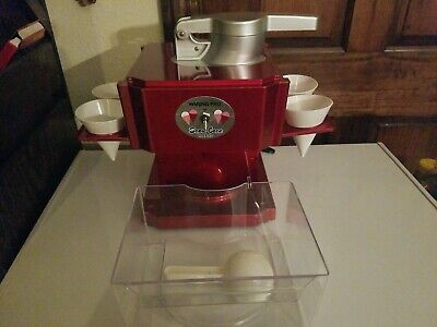 Waring Pro Snow Cone Maker - Red