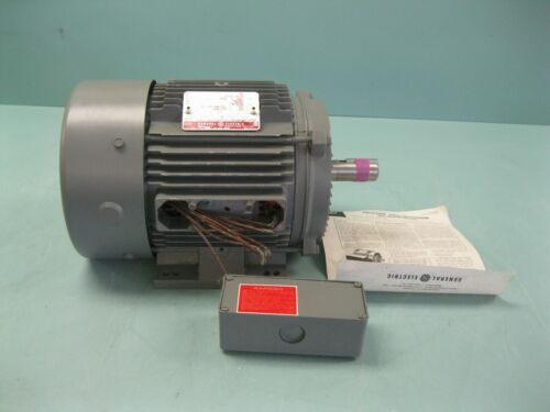 GE General Electric 5K184BL220C Induction Motor 5 HP 230/460V NEW A20 (2562)