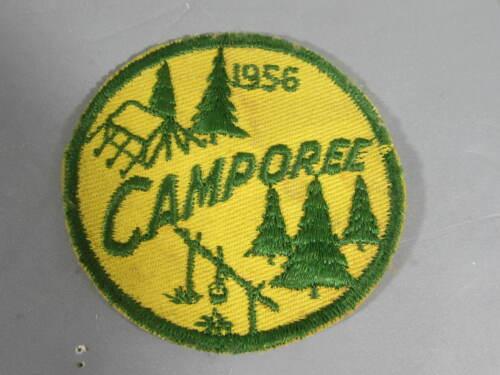 1956 Boy Scout Camporee Patch