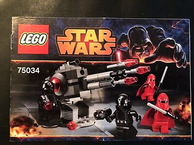 Lego 75034 Star Wars Death Star Troopers Instruction Manual