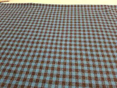 Kirkby designs wool. PIN FR LAGOON. HOUNDSTOOTH 1.6MTRS