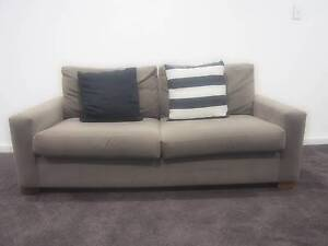 2 x Freedom Furniture 2 seater sofas. Denistone West Ryde Area Preview