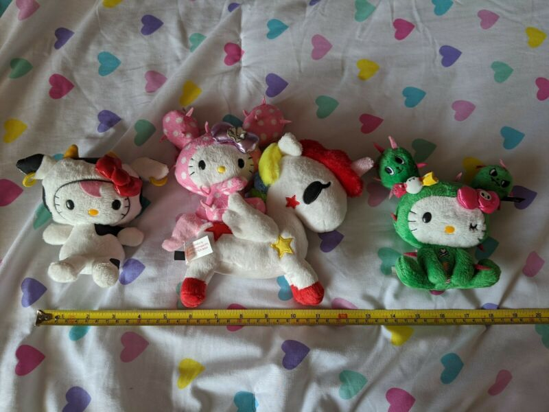 Tokidoki x Hello Kitty 2013 Plush Lot