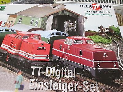 Tillig 01209 Digital-Startset mit DAISY II für TT