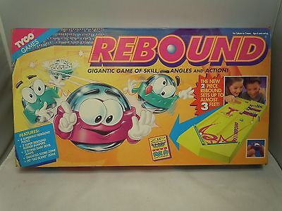 REBOUND Board Game 1994 VINTAGE Board Only TYCO -