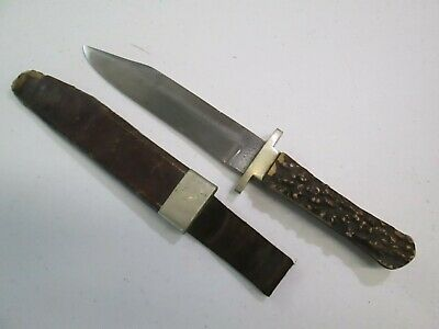 US CIVIL WAR BOWIE KNIFE WITH SCABBARD MANSON SHEFFIELD MAKERS