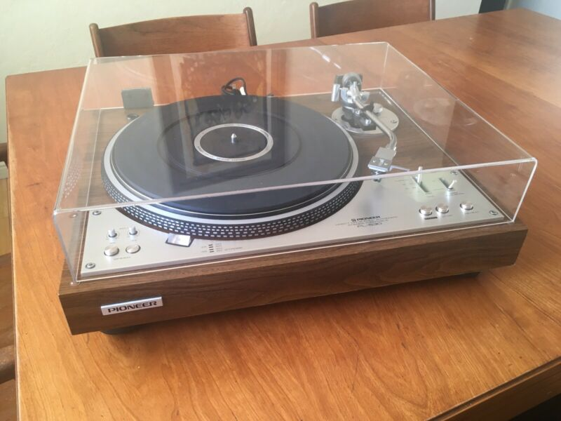 Pioneer PL 530 Turntable fantastic condition Shure M44MB Cartridge