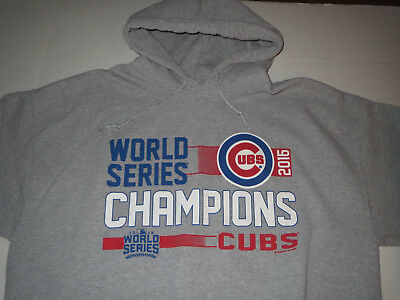 Activewear Tops Men's Clothing Nike Chicago Cubs October Baseball Shirt Genuine World Series Champ 2xl Mens Nwt Latest Technology