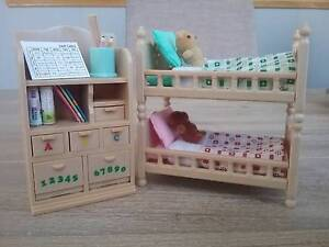 Sylvanian families childrens bedroom furniture Wyoming Gosford Area Preview