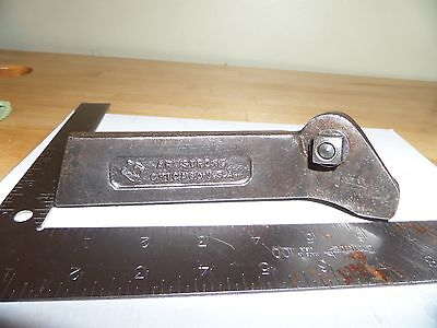 72-r Armstrong Off Set Cut Off Parting Tool Holder South Bend Logan Atlas D54