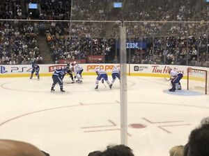 Leafs vs Canadiens - Sat Feb 23- PLATINUMS