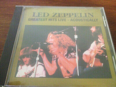 Led Zeppelin Greatest Hits Live Acoustically Silver Disc (Led Zeppelin Greatest Hits)