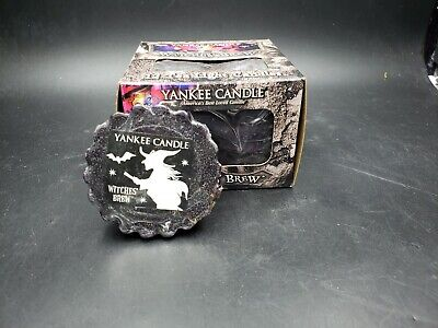 Yankee Candle Witches Brew 12 count Tea Light Box + Wax Melt Patchouli HTF