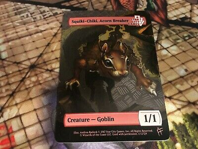 MTG Magic NM Panda Token SCG Star City Games Creature Series