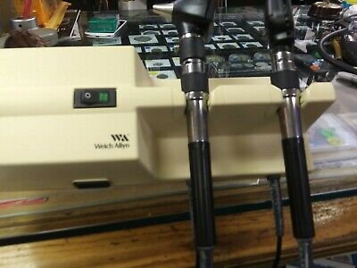Welch Allyn 767 Integrated Wall System With Otoscope And Opthalmoscope Heads